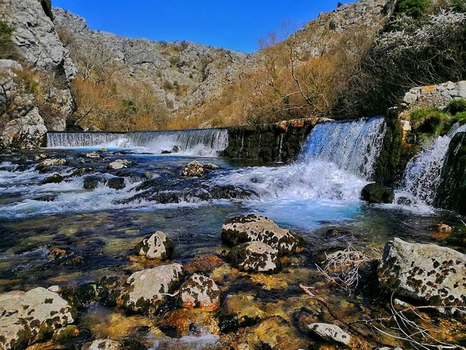 River Rumin natural water spring: one of the most beautiful natural water springs in Croatia