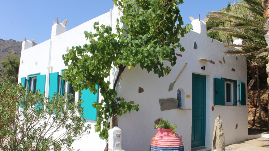 A typical Cycladic house