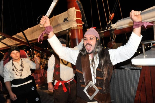 Pirate battle Omiš - outstanding experiences in Dalmatia