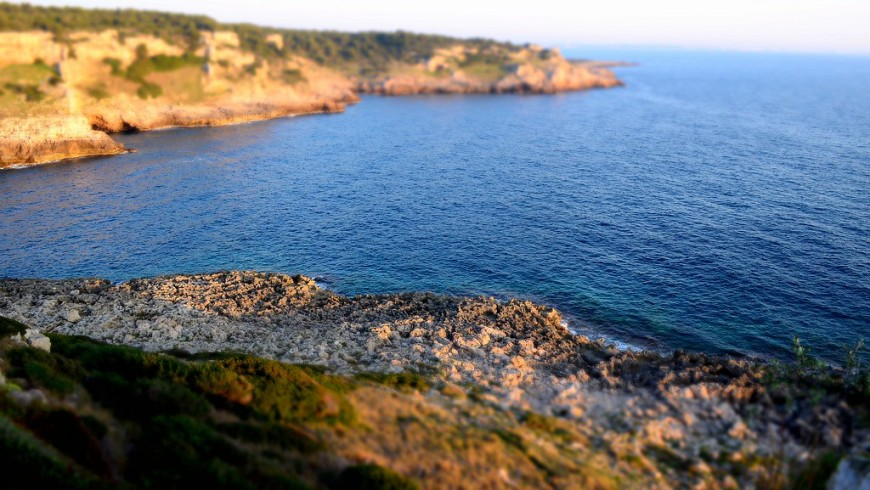 Natural Park of Porto Selvaggio, its beach and cliffs