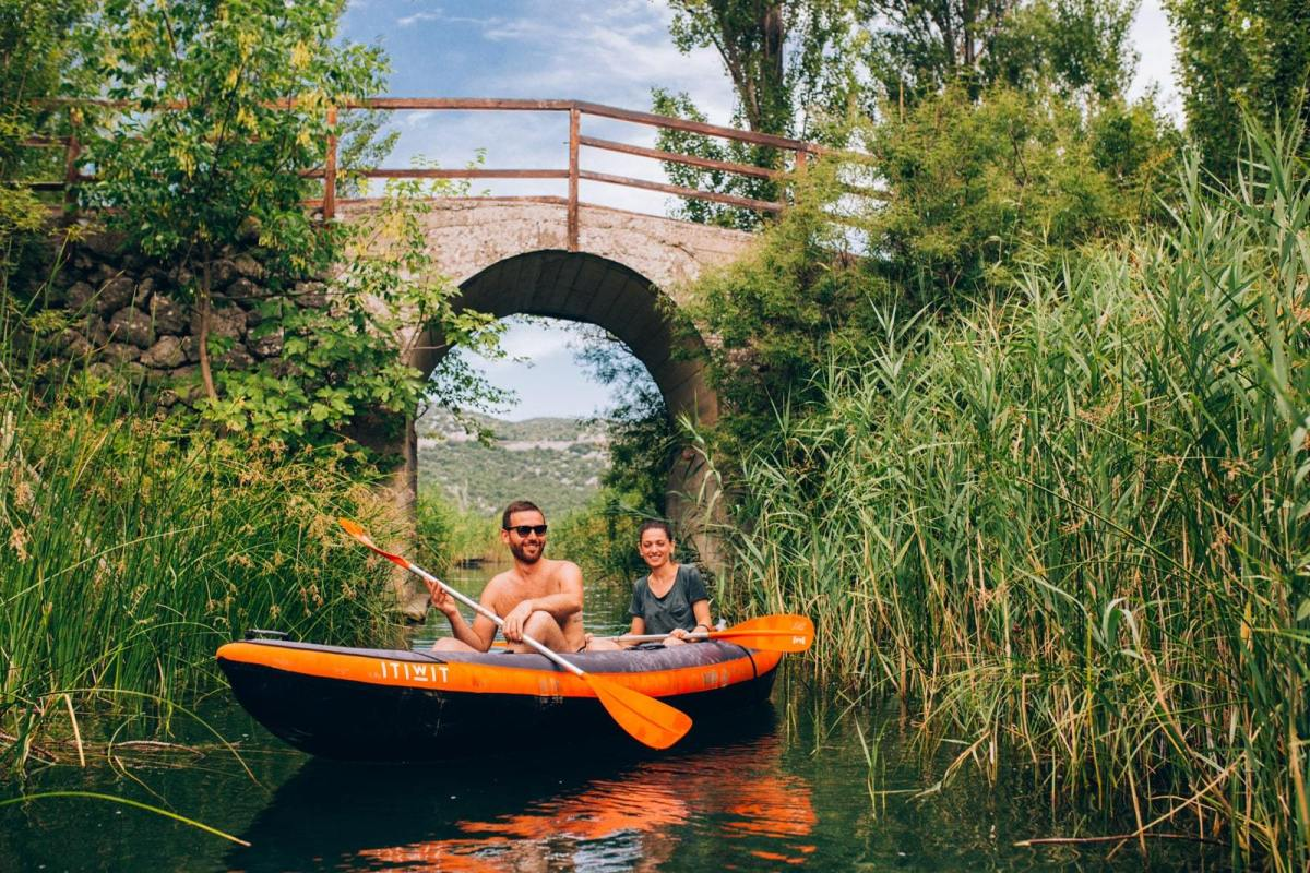 Neretva river kayaking - hidden gems Dalmatia
