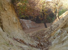 Canyon and walk in Roero
