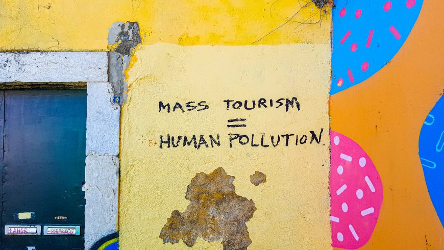 writing against mass tourism