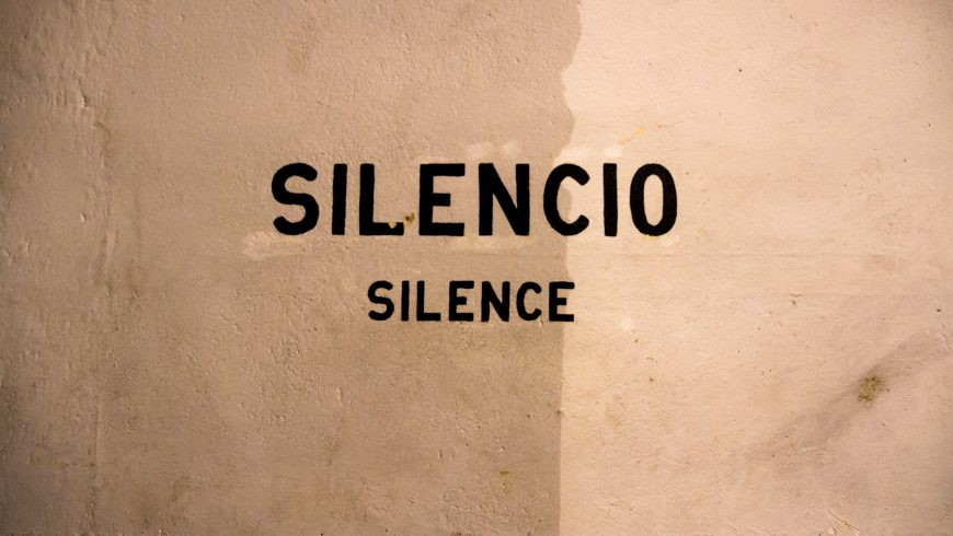 Silence, please: a cure for our brain