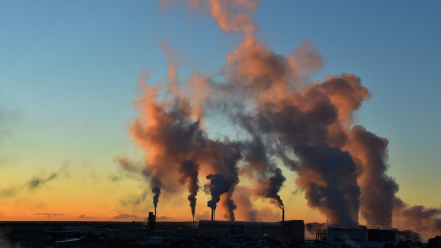 industrie de la pollution de l'environnement