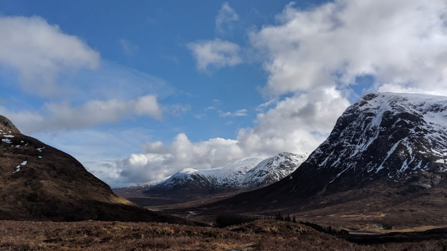 mountains in scotland