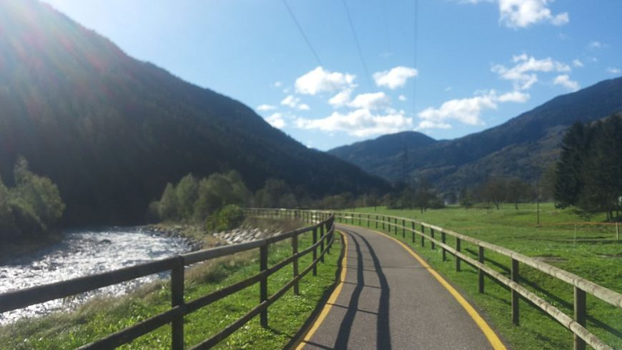 Val Rendena cycle path