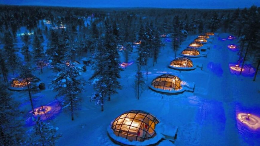 igloo village eco friendly and stunning