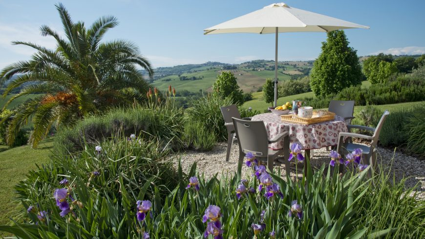 beautiful sustainable accommodation in Marche region