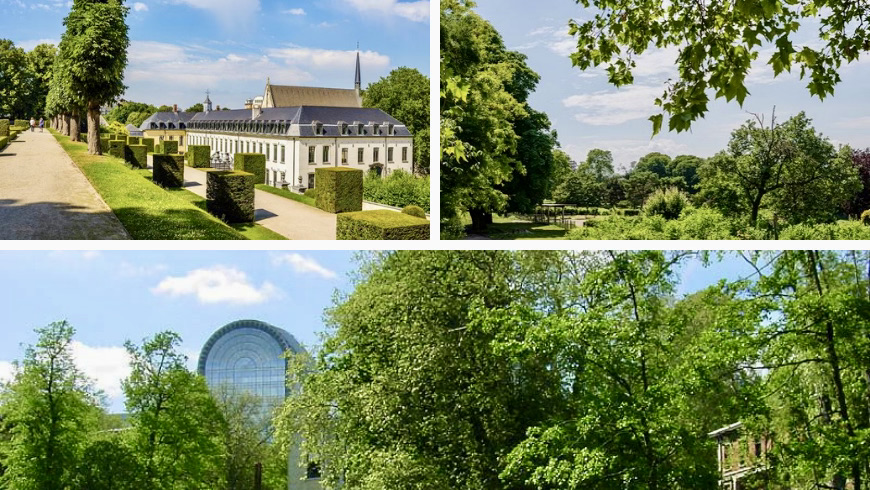 Brussels' Parks. Photos by pinterest.com and visit.brussels