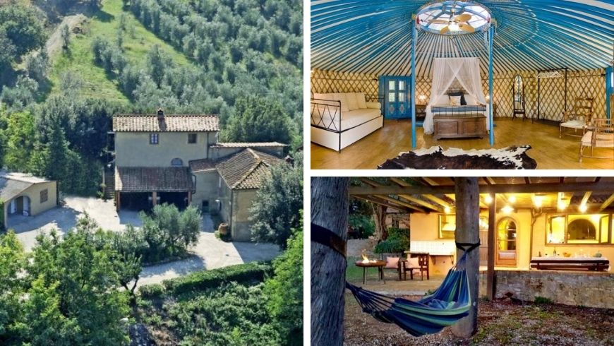 Eco hotel in Tuscan, Italy